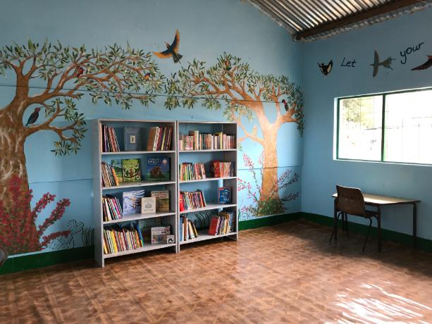 Jabisa Library renovated by the Scouts