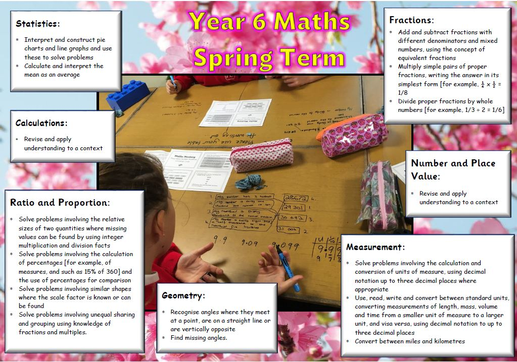 Year 6 Spring Maths