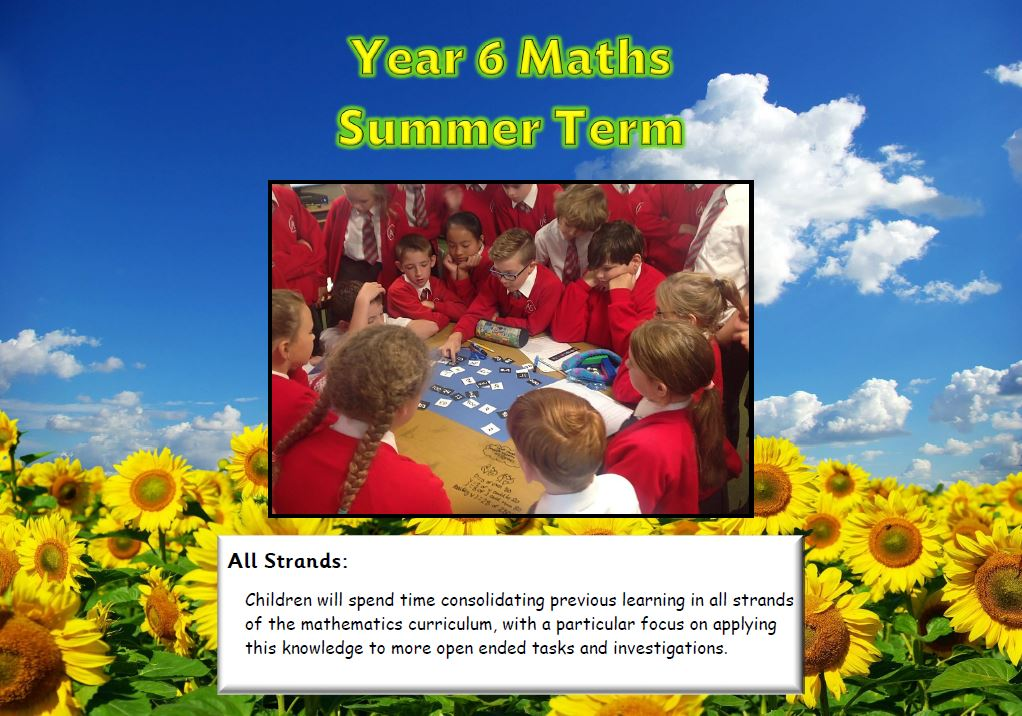Year 6 Summer Maths